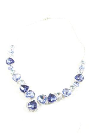 Swarovski Collier blauw glitter-achtig