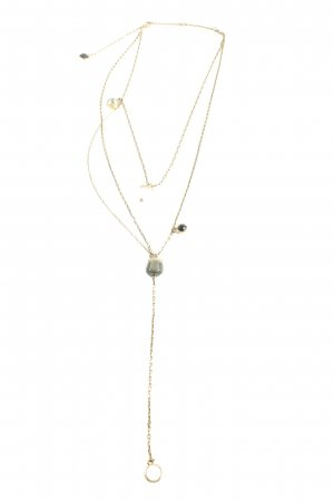 Swarovski Collier goldfarben Casual-Look