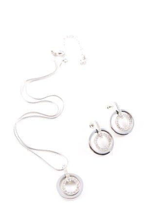 Swarovski Collier argento elegante