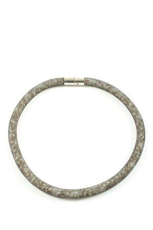 Swarovski Collier schwarz Casual-Look