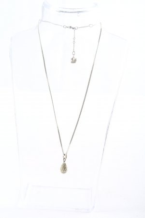 Swarovski Collier Necklace silver-colored casual look