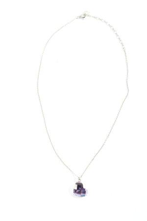 Swarovski Collar estilo collier color plata look casual
