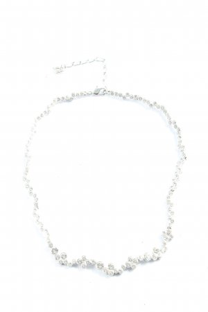 Swarovski Collier Necklace silver-colored business style