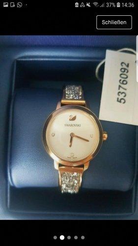Swarovski Reloj con pulsera metálica color rosa dorado