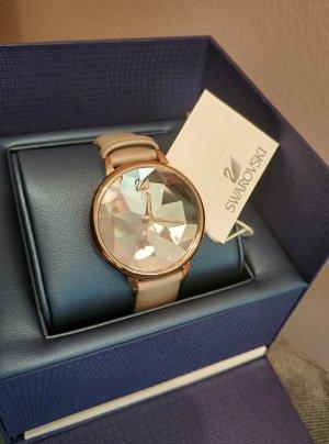Swarovski Zegarek ze skórzanym paskiem Wielokolorowy