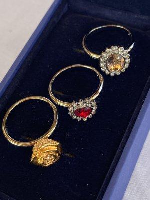 Swarovski Srebrny pierścionek Wielokolorowy