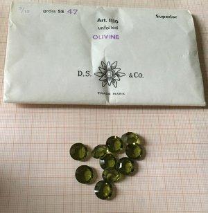 Swarovski Bottone verde prato-verde bosco
