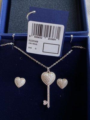 Swarovski Engaged set; Earing and Necklace