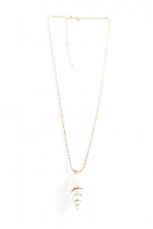 Swarovski Goldkette mehrfarbig Casual-Look