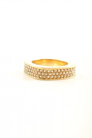 Swarovski Goldring goldfarben Business-Look