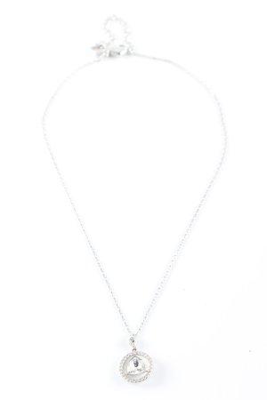 Swarovski Collier argenté élégant