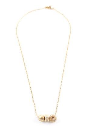 Swarovski Collana oro elegante