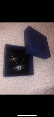 Swarovski Necklace rose-gold-coloured-blue