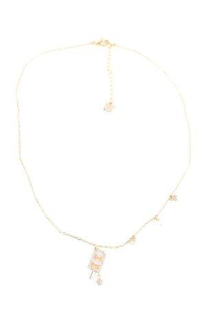 Swarovski Halskette goldfarben Casual-Look