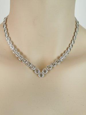Swarovski Halskette mit 31 Kristallen