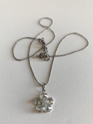 Swarovski Halskette mit Blume