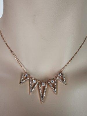 Swarovski Halskette mit Dreiecken