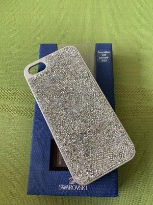 Swarovski Mobile Phone Case silver-colored