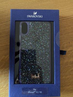 Swarovski Handyhülle blau