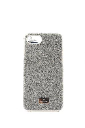 Swarovski Mobile Phone Case silver-colored elegant