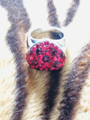 Swarovski Herz Silber Ring