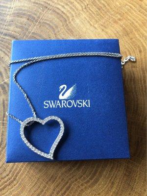Swarovski HerzKette Silber