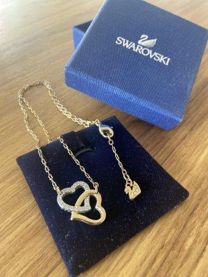 Swarovski Collar color plata-color oro