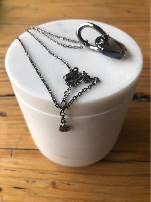 Swarovski Collier zilver-grijs