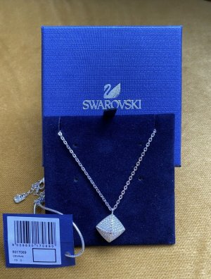 Swarovski Pendentif argenté