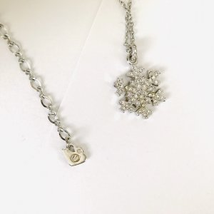 Swarovski Necklace silver-colored