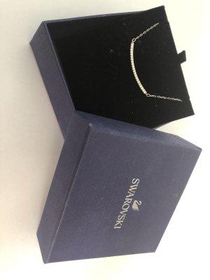 Swarovski Kette, Silber mit Swarovskisteinen
