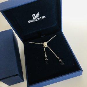 Swarovski Kette weiß lila kristall Schmuck Halskette