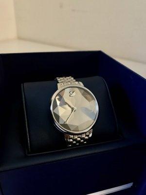 Swarovski Reloj con pulsera metálica color plata-gris pizarra