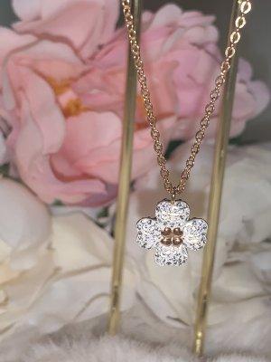 Swarovski Latisha Flower Halskette, Roségold