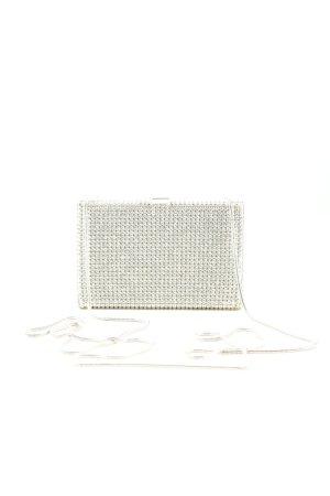 Swarovski Torebka mini biały-złoto Elegancki