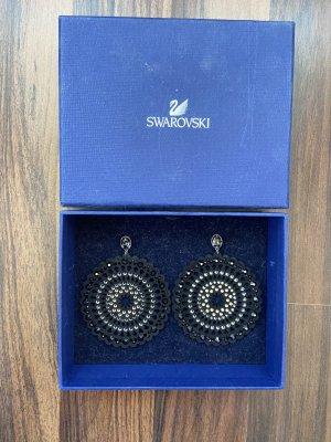 Swarovski Statement Earrings black