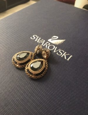 Swarovski Pearl Earring gold-colored