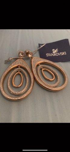 Swarovski Boucles d'oreille en or multicolore