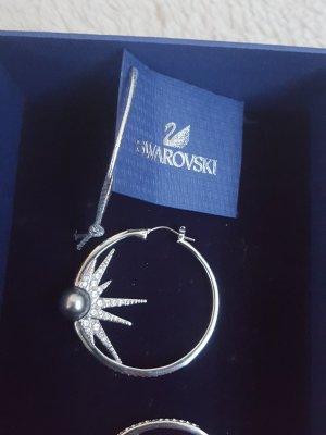 Swarovski Creolen zilver