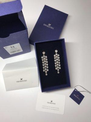 Swarovski Silver Earrings silver-colored