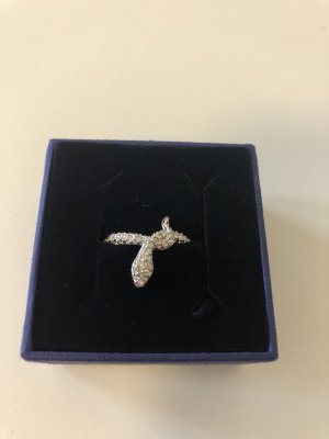 Swarovski Anello d'argento argento