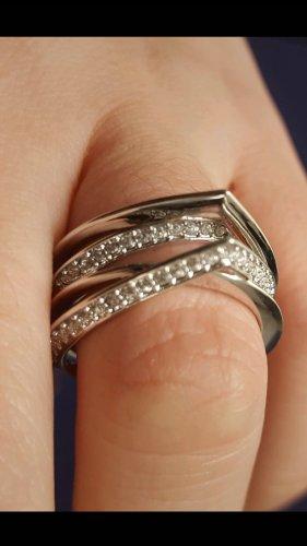 Swarovski Zilveren ring zilver