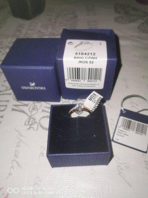 Swarovski Gouden ring roségoud Gemengd weefsel