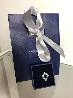 Swarovski Silver Ring silver-colored-blue