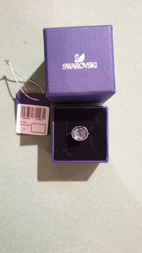 Swarovski Anello d'argento multicolore