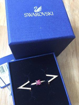 Swarovski Ring mit Rose Kristall