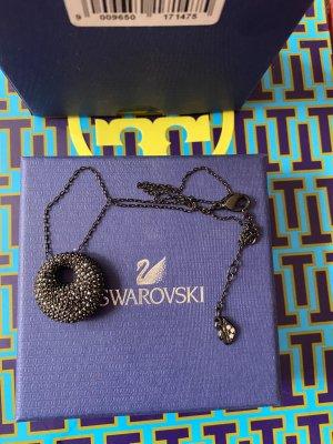 Swarovski Schwarze Halskette Neu mit Steinen