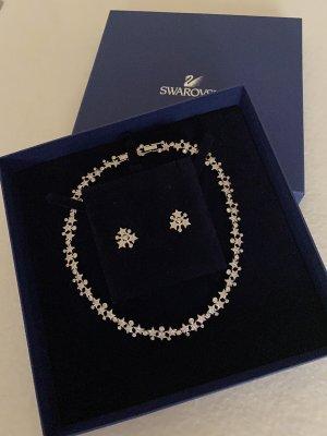 Swarovski Collier Necklace silver-colored