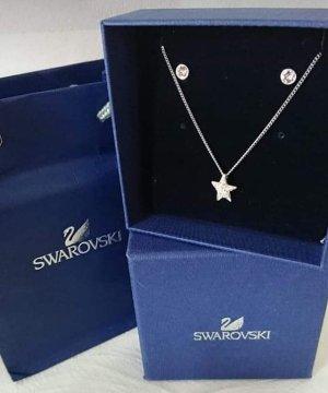 Swarovski Cadenza Parure bijoux blanc-argenté