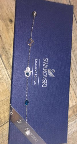 Swarovski Bracelet en argent argenté